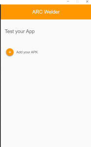 Run android apps in the chrome browser