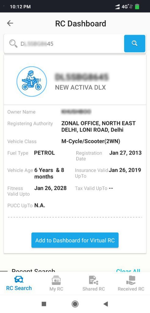 DigiLocker and mParivahan Apps to Show Digital Vehicle Documents