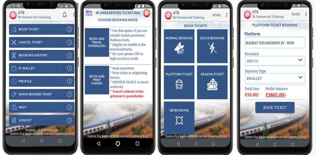 indian railway apps