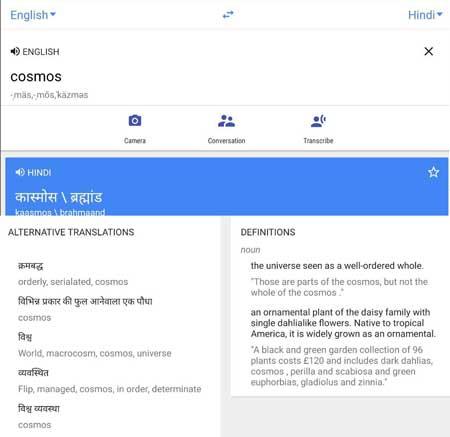 google-translate trick