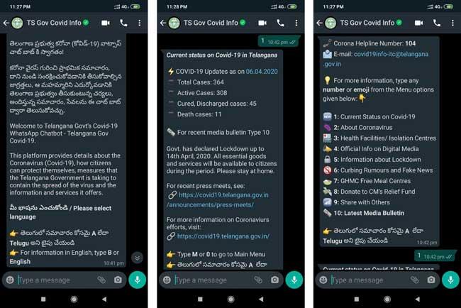 WhatsApp-chatbot-on-COVID-19