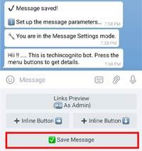 create telegram bot
